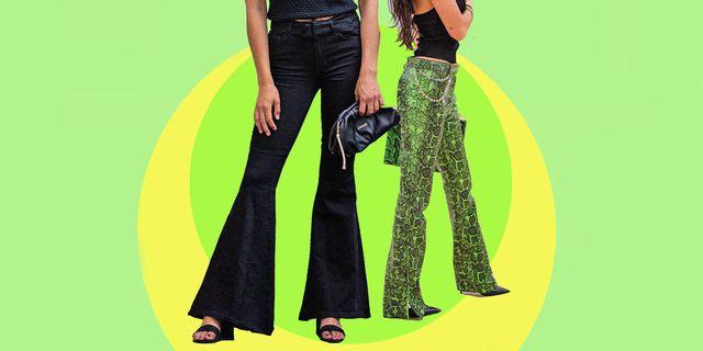 pantalone donna, quello a zampa rientra tra i pantaloni fluidi estivi da aver subito perché con i pantaloni a zampa gli outfit sono sempre sexy e groovy