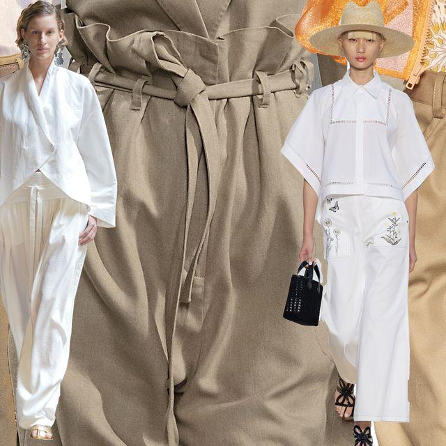 pantaloni larghi moda estate 2020