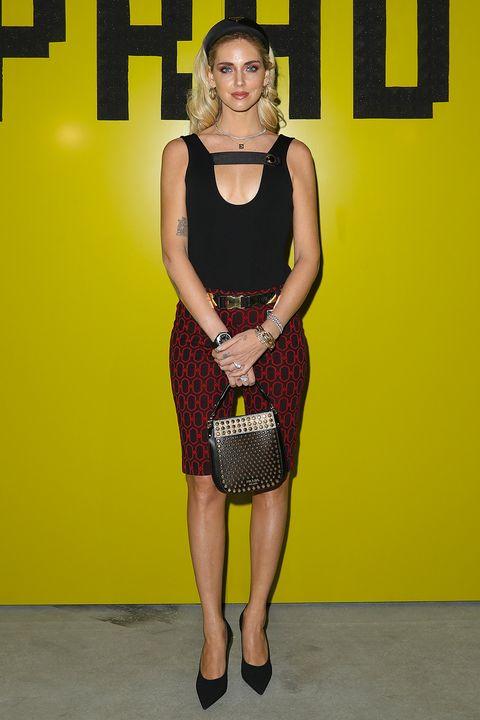 prodotti caldi ben noto design elegante Chiara Ferragni, i pantaloni della moda primavera estate 2019