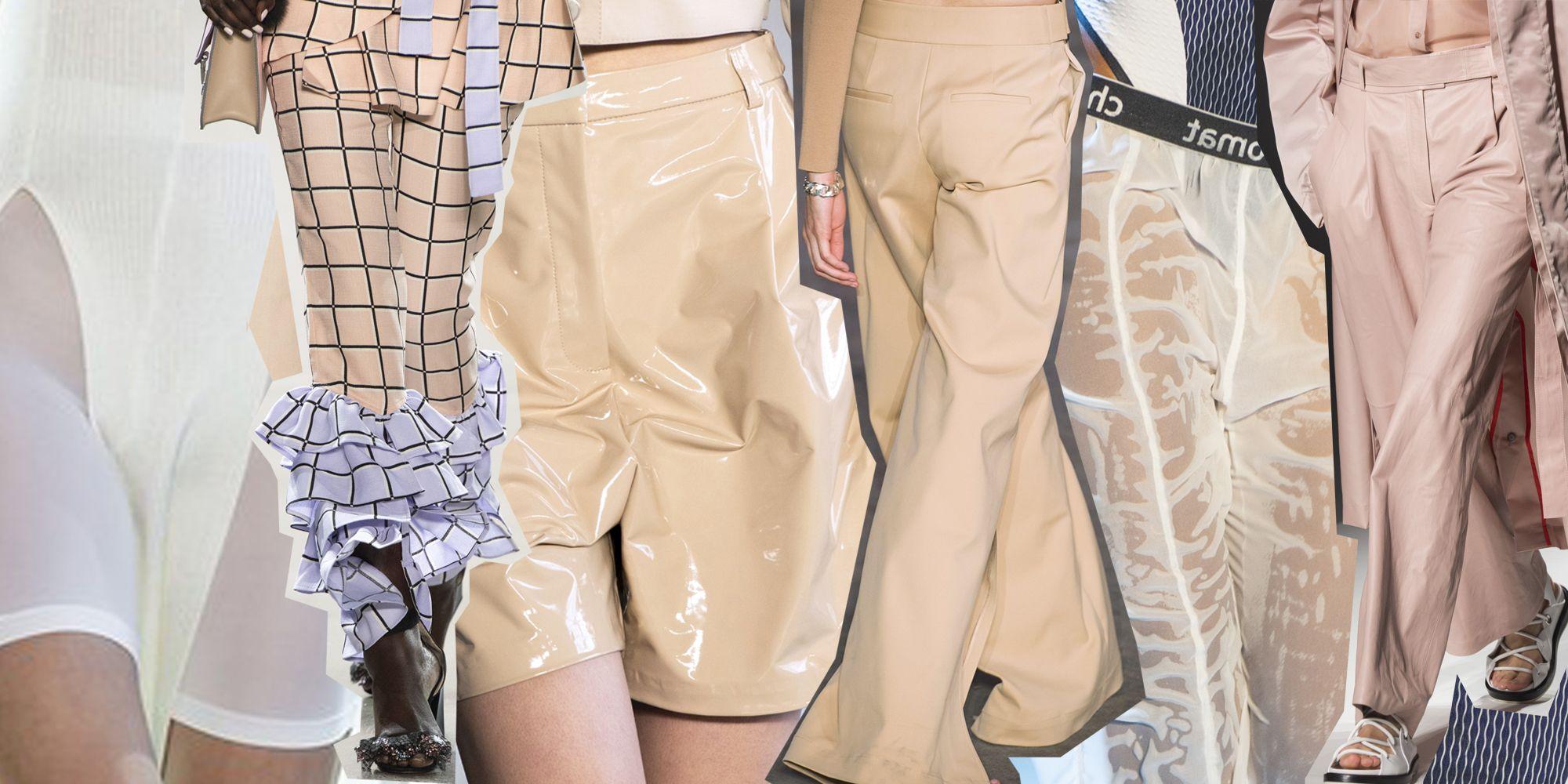Pantaloni moda Primavera Estate 2019 i modelli di tendenza dalle sfilate