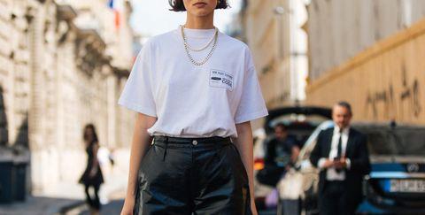 premium selection 8bd78 1667e Moda Pantaloni 2018: 12 modelli di pantaloni in pelle SUPER