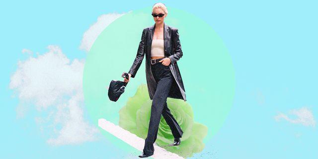 il pantalone della moda 2021 perfetto forse non esiste ma è vero che i pantaloni donna neri sono una garanzia per look minimal chic da foggiare tutta la primavera estate 2021