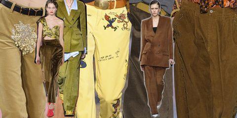 99de90714357 I pantaloni di velluto sono i modelli must have dell Autunno Inverno ...