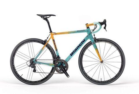 bianchi, pantani, giro, d'italia, tour, de france, specialissima, gear, fiets, review