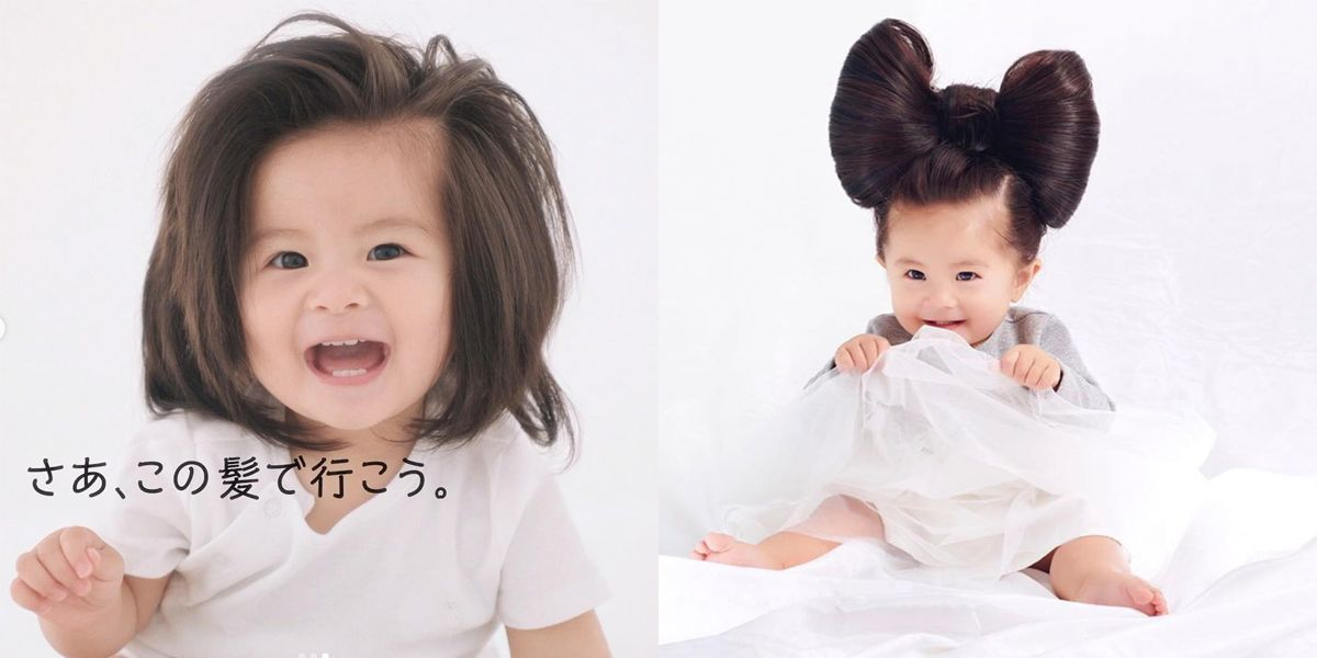 Pantene Legit Just Hired a Baby to Be Its New Face