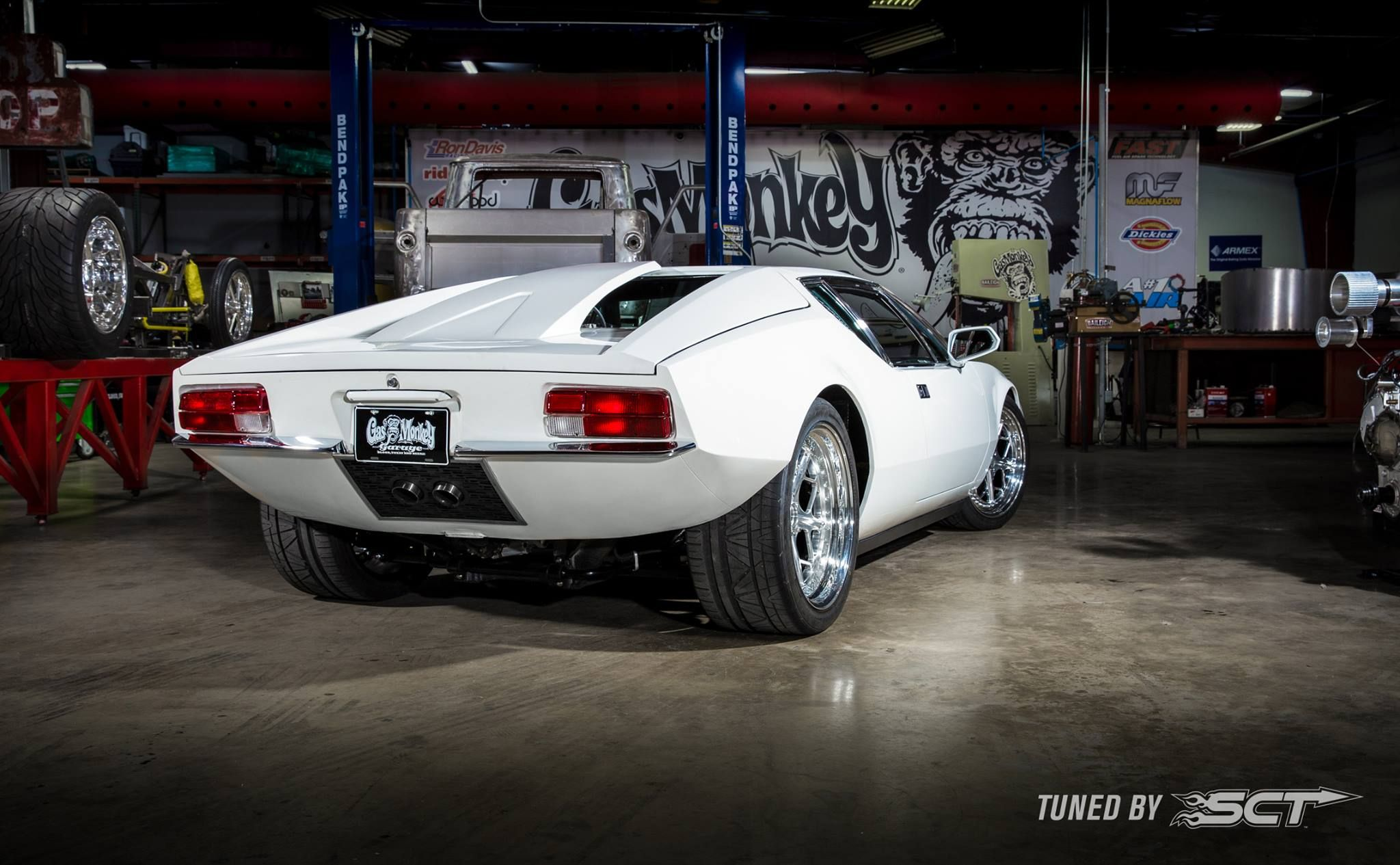 This Ecoboost Swapped De Tomaso Pantera Is Basically a 1972 Ford GT