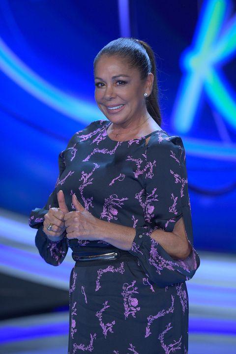 Isabel Pantoja en la presentación de 'Idol Kids' octubre 2019