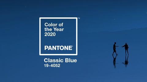Pantone 2020年度代表色「經典藍」