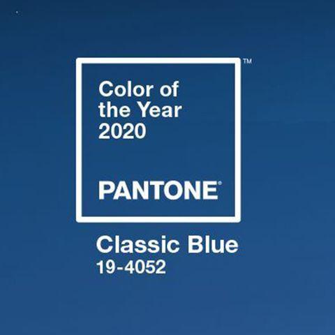 Color del año Pantone: Classic Blue