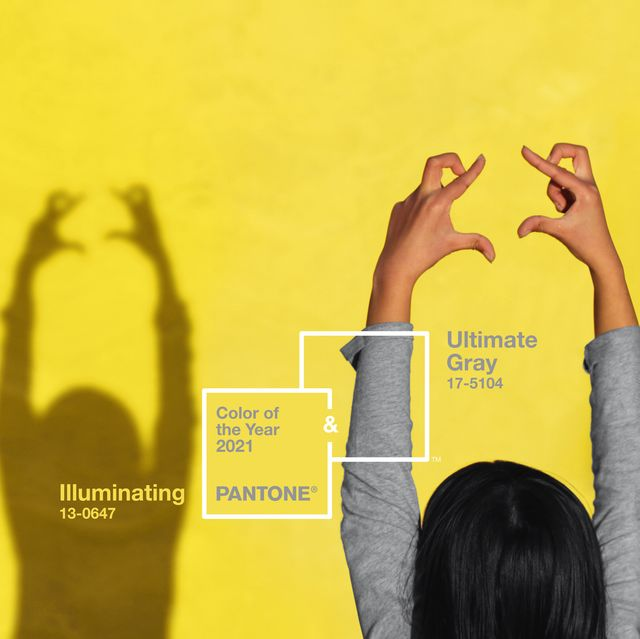 pantone colour of the year 2021   illuminating and ultimate grey