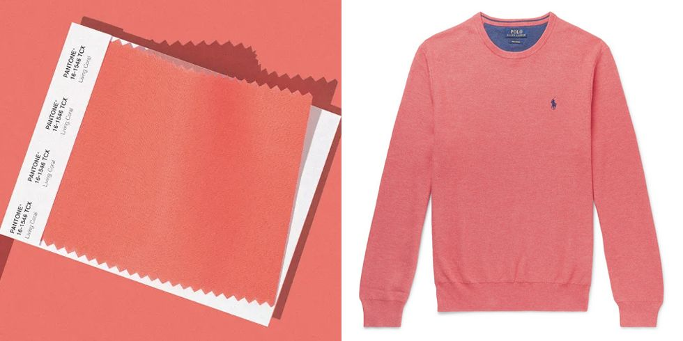 'Living Coral' Has Been Named Pantone's Colour Of The Year
