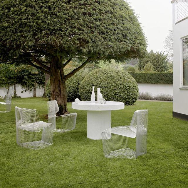 sculptural garden furniture