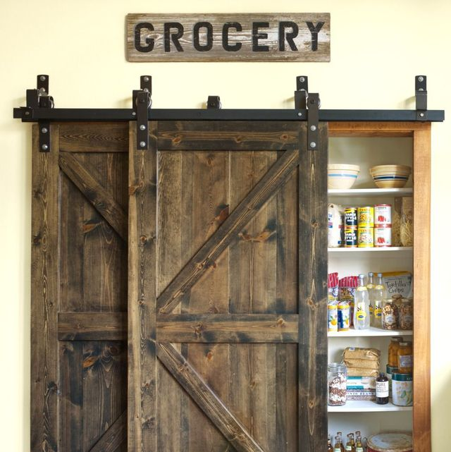 14 Smart Pantry Door Ideas Types Of