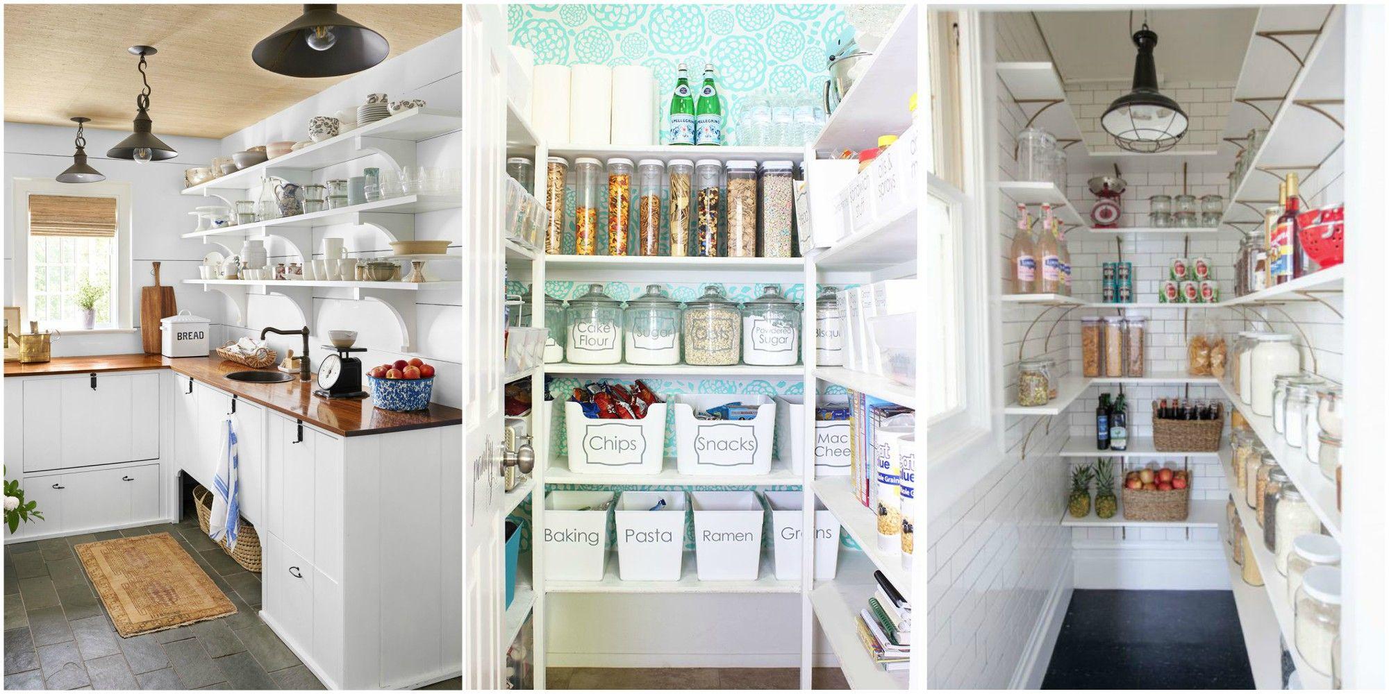 16 Unique Kitchen Storage Ideas: 16 Kitchen Pantry Organization Ideas