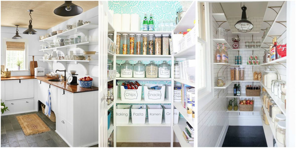 16 Epic Bathroom Storage Ideas: 16 Kitchen Pantry Organization Ideas