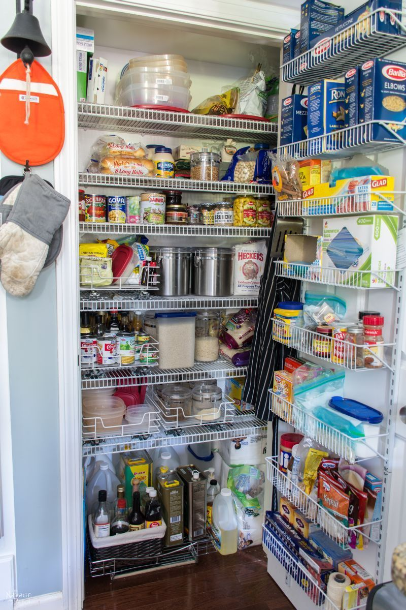 20 pantry organization ideas and tricks how to organize your pantry rh housebeautiful com Creative Pantry Organization Kitchen Pantry Storage Systems