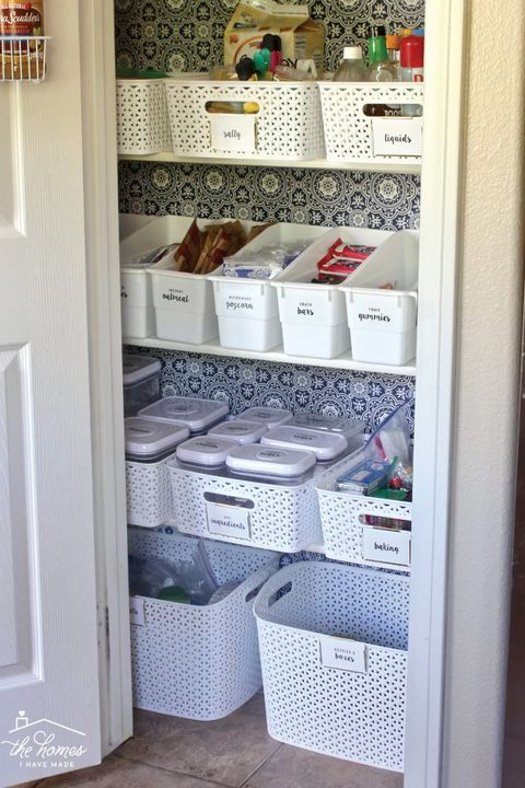 pantry organization bins