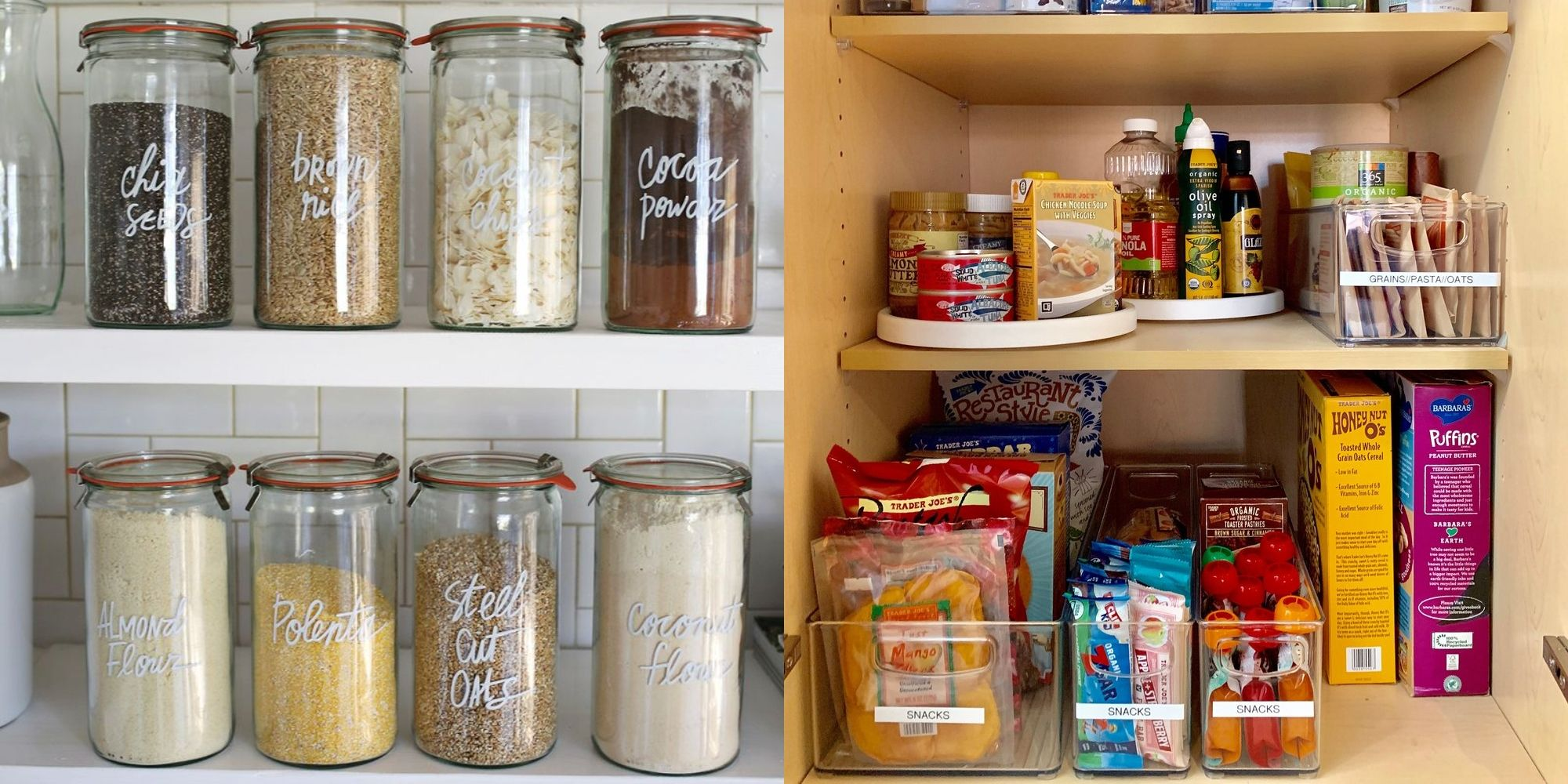 20+ Pantry Organization Ideas for the Tidiest Kitchen of Your Life