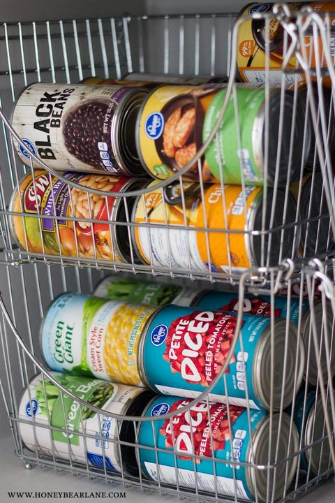 pantry organization ideas canned goods