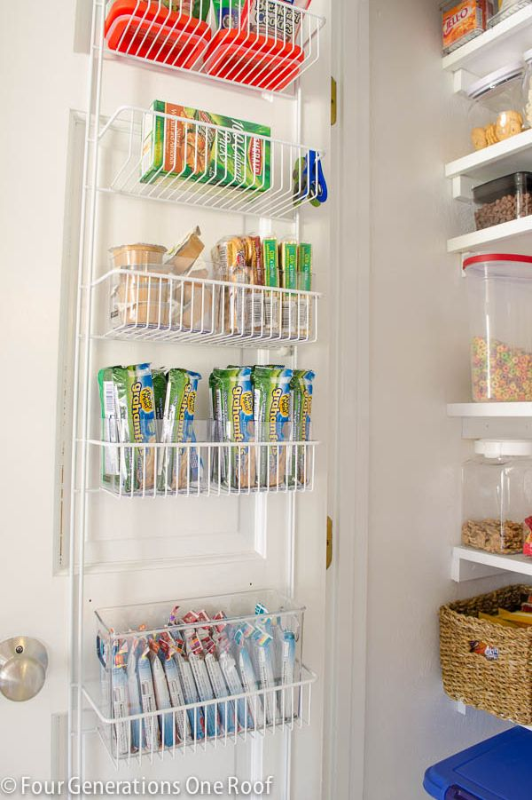 pantry organization ideas rack