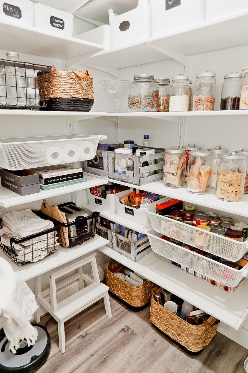 20 Clever Pantry Organization Ideas And Tricks How To Organize A Pantry,Kitchenaid Dishwasher Troubleshooting