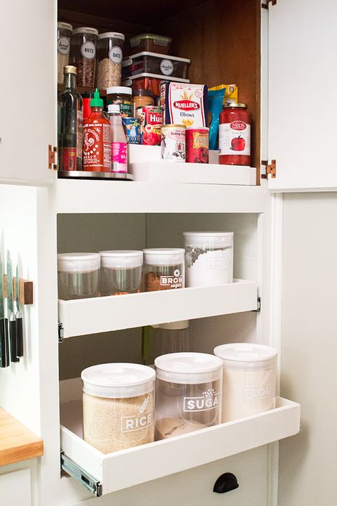 pantry organization small space