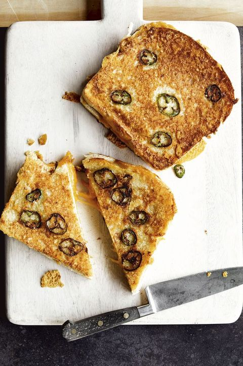 pantry recipes - jalapeno grilled cheese