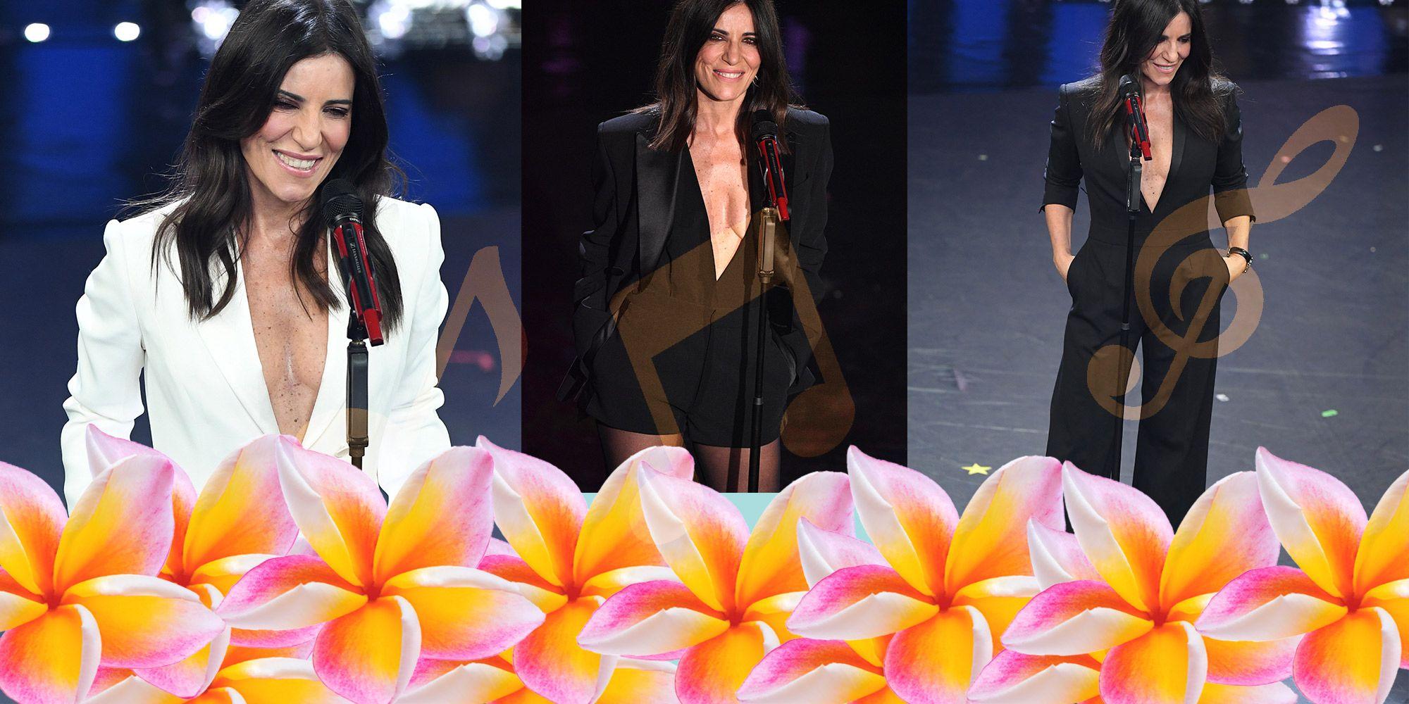 5643da0726e7 Paola Turci con i vestiti a Sanremo 2019 ha portato lo style rock