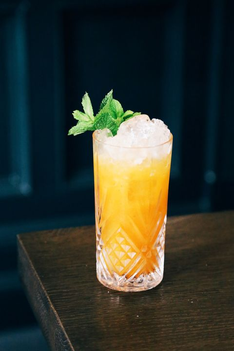 Drink, Rum swizzle, Non-alcoholic beverage, Sour, Cocktail garnish, Mai tai, Alcoholic beverage, Food, Juice, Cocktail,