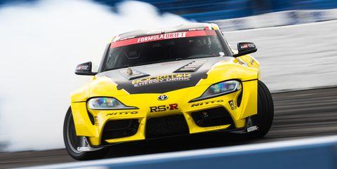 papadakis racing drift gr supra at sema