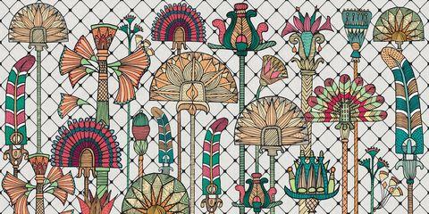 Pattern, Design, Art, Illustration, Floral design,