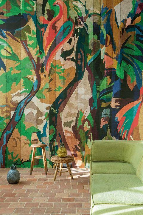 pinturas y papel pintado
