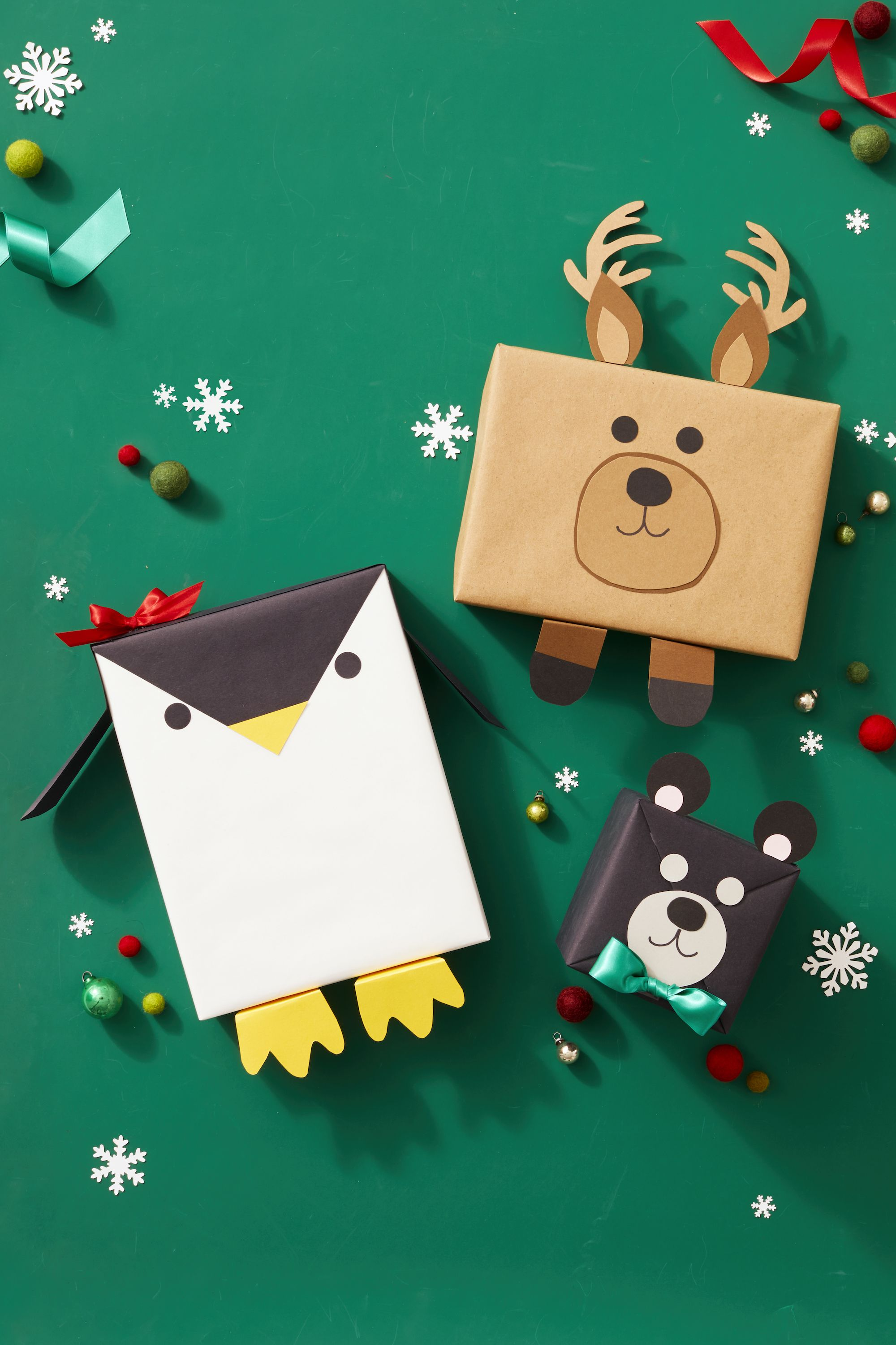 animal gift wrap ideas