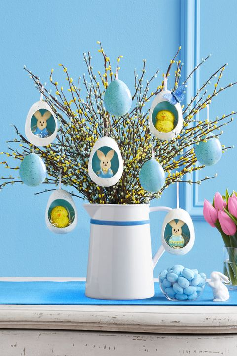 Paper Mache - DIY Easter Tree Ideas