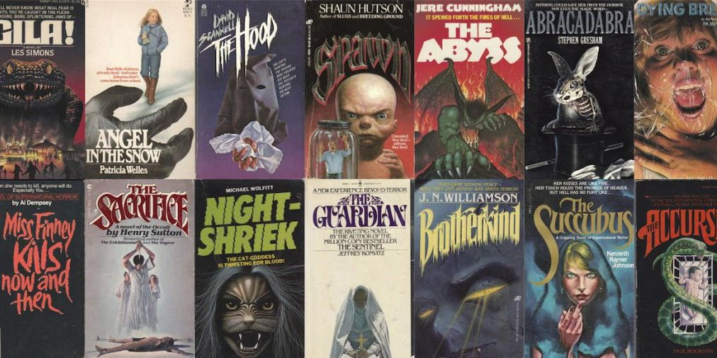 Book Covers Were a Lot Scarier in the '80s