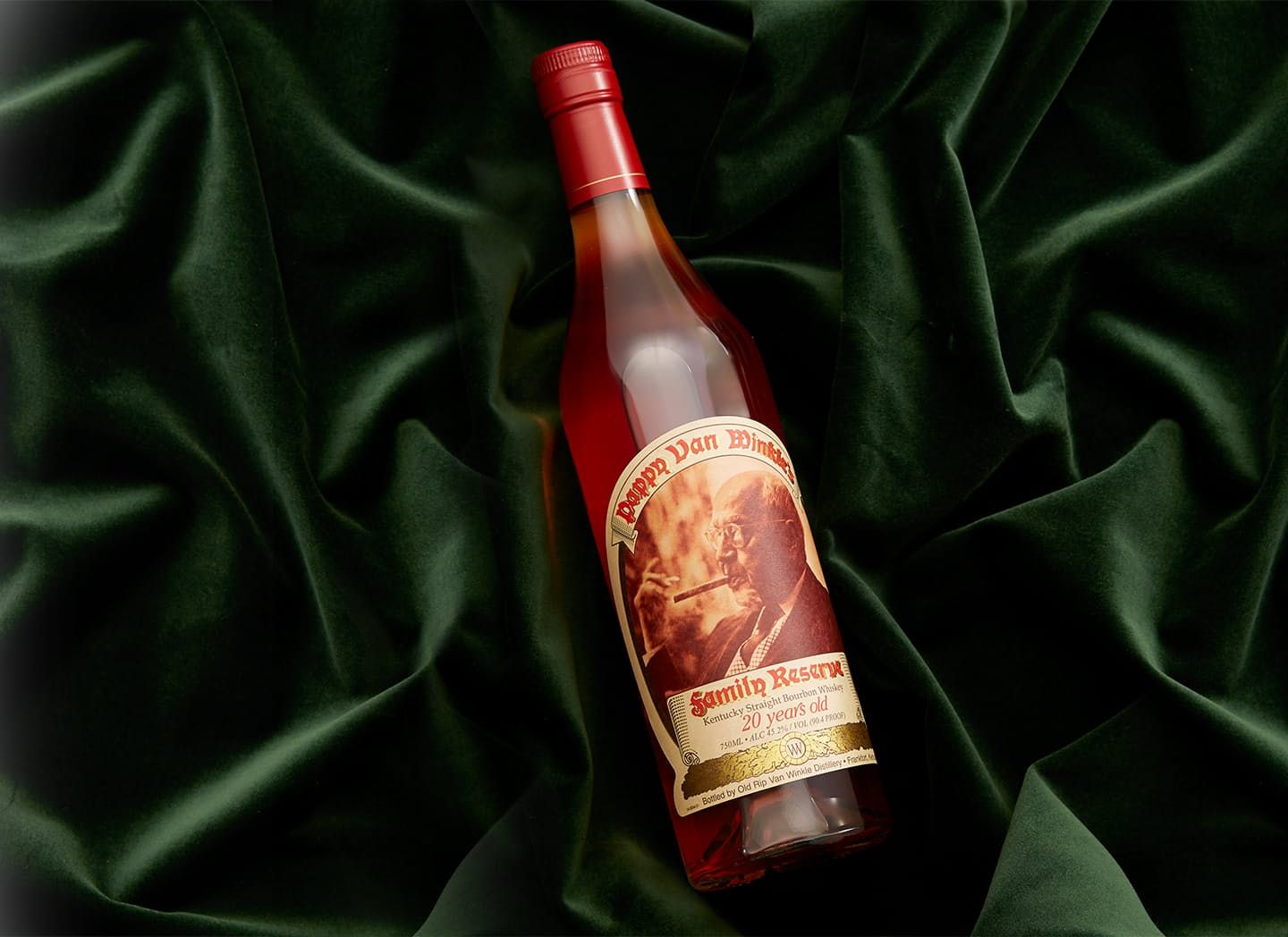 A Bottle of 20-Year-Old Pappy Van Winkle Is Up for Grabs at Huckberry