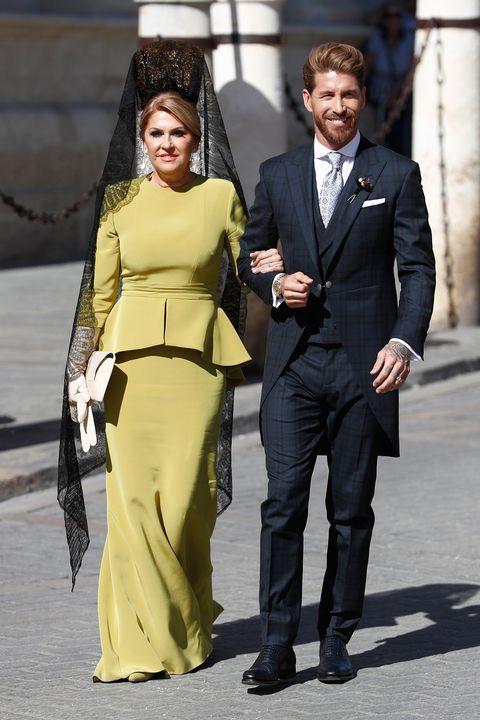 Las invitadas mejor vestidas de la boda Pilar Rubio y Sergio Ramos