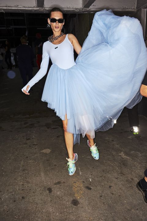 White, Clothing, Dress, Footwear, Fashion, Dance, Event, Costume, Shoe, Performance,