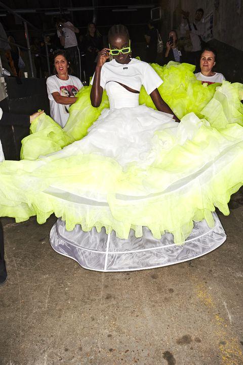 Dress, Costume, Gown, Wedding dress, Bridal clothing,