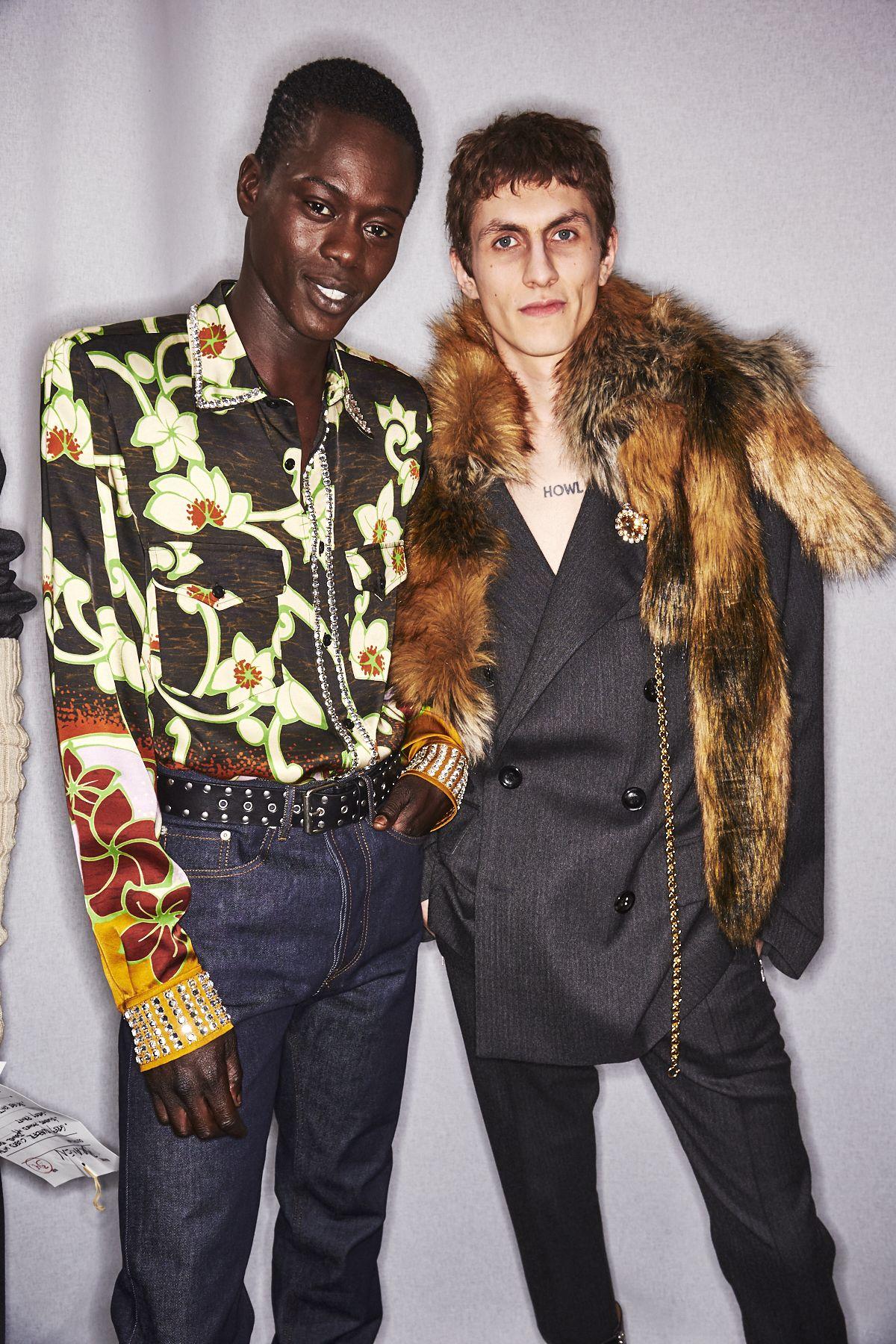 Exclusive Backstage Photos from Dries Van Noten Men's Fall/Winter 2020