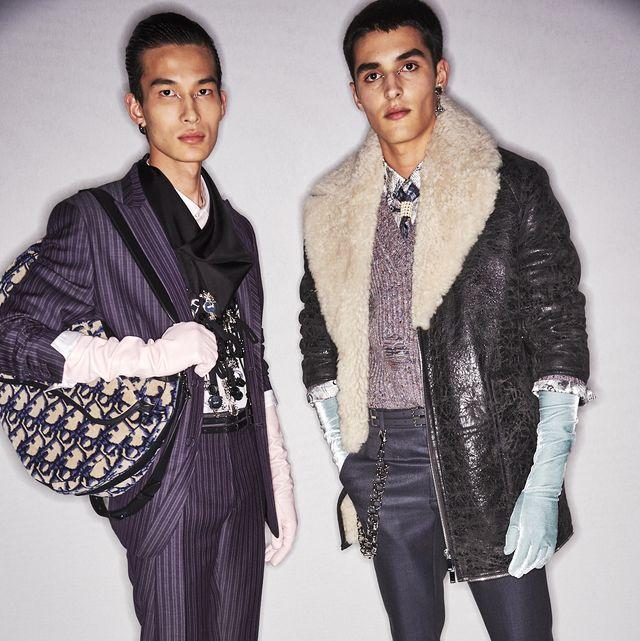 Fashion, Fashion design, Fashion model, Human, Outerwear, Fur, Footwear, Suit, Fun, Cool,