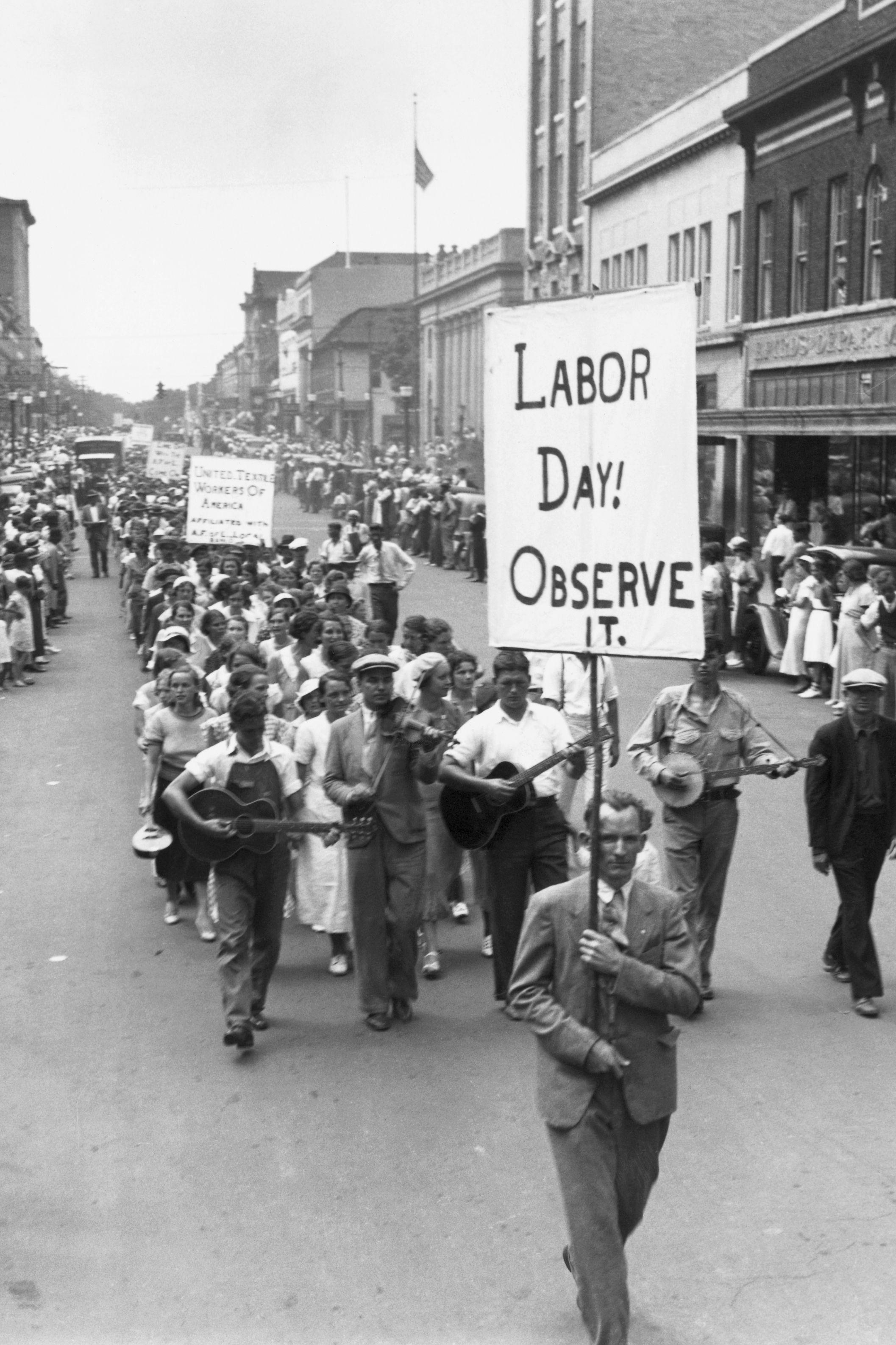 labor day parade - labor day trivia