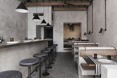 Paradise restaurant Soho interior