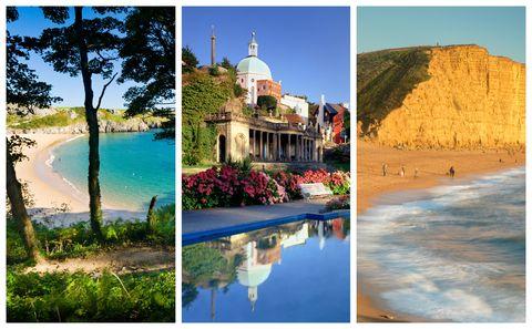UK holiday hotspots