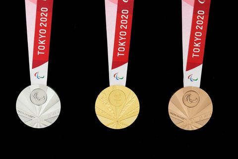 2020 Tokyo Paralympic Medals - Olympic Medals Made With