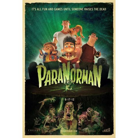 scary movies for kids - paranorman