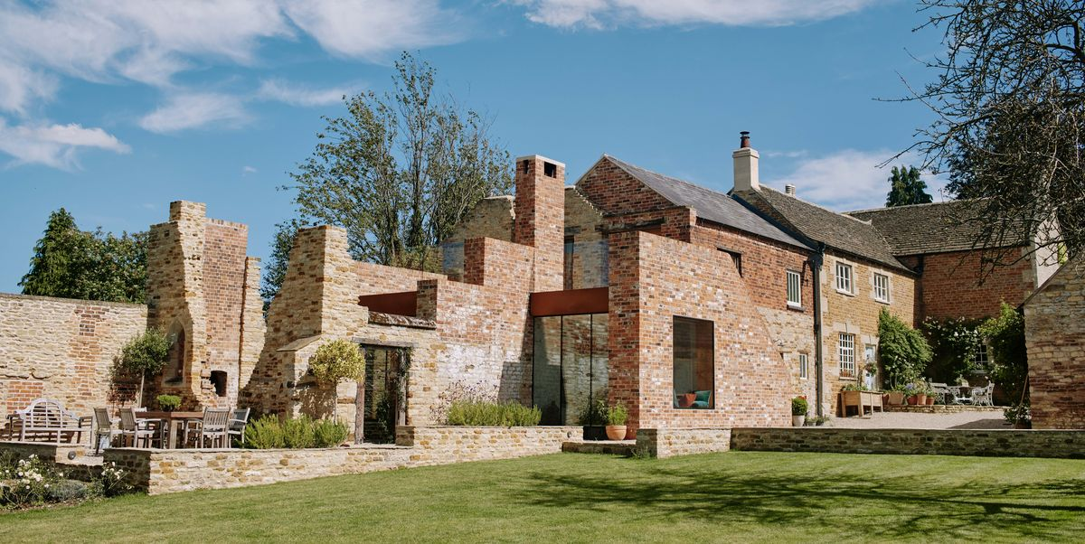 Inside Parchment Works, a modern country house that emerges from the ruins of the past