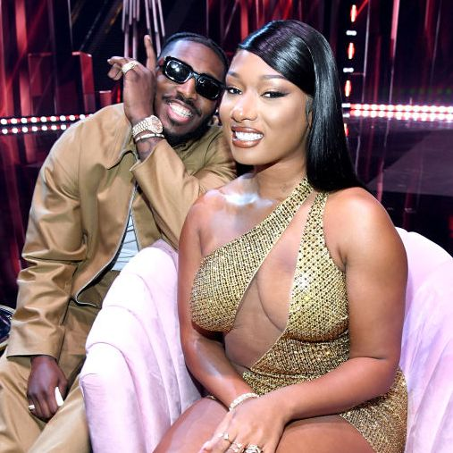 megan thee stallion and pardison fontaine at the 2021 iheartradio music awards