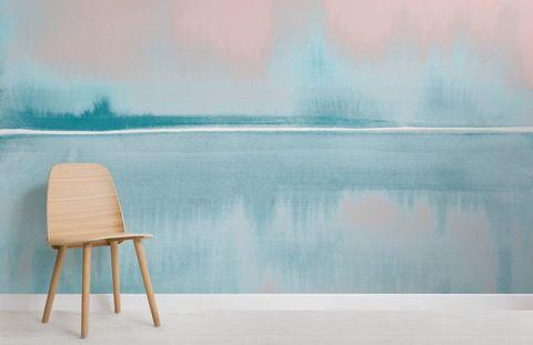 Atrévete a dar color a tus paredes con papeles pintados efecto acuarela wallpaper watercolor