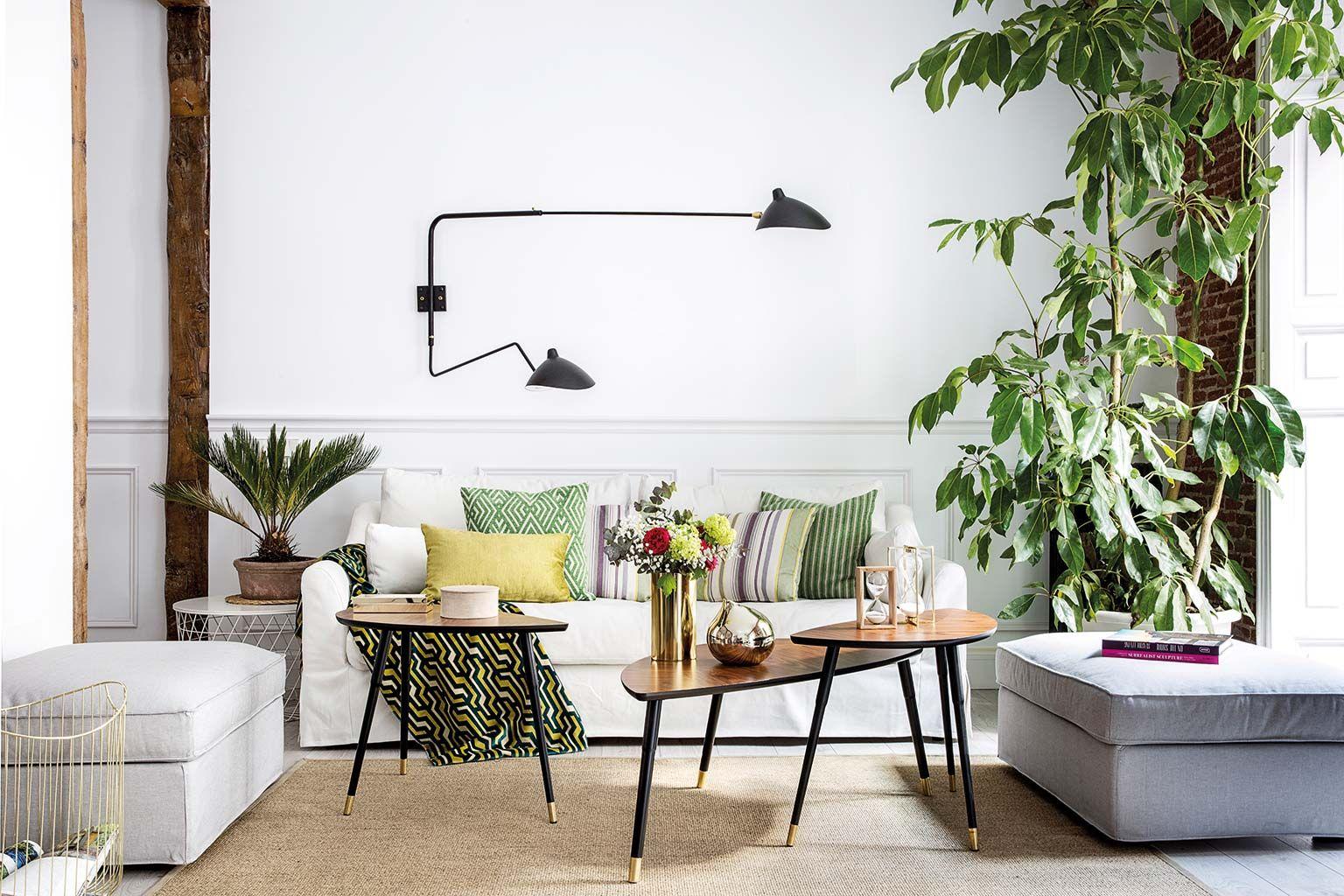 Un piso decorado con estilo nórdico